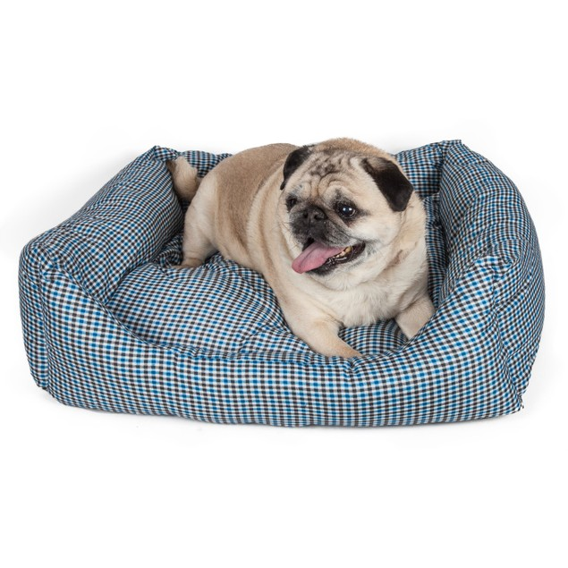 Wick-Away Water Resistant Rectangular Dog Bed