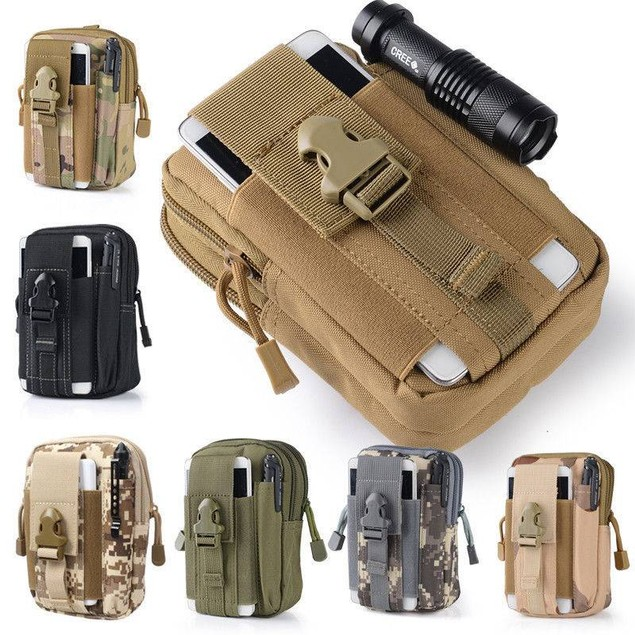 Tactical Waist Bags Outdoor Sport Casual Waist Pack Purse Mobile Phone Case