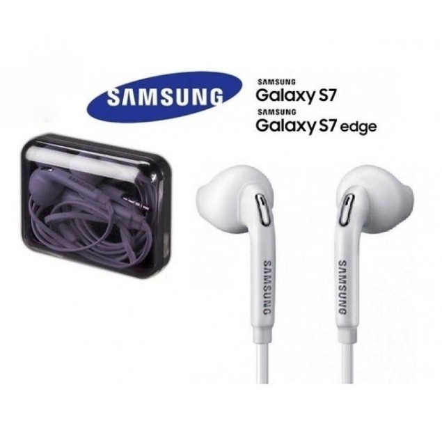 Samsung Galaxy S7 Edge S6 Note Headset Earphones Earbuds