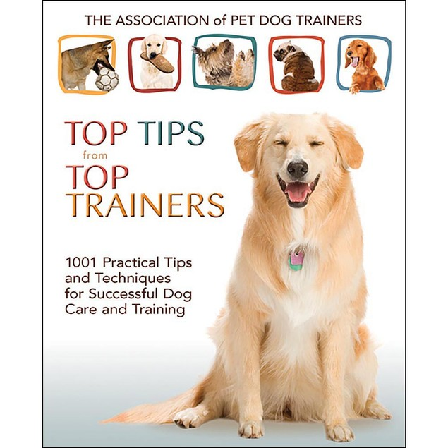 Top Tips from Top Trainers Book, Dog Training by TFH Publications
