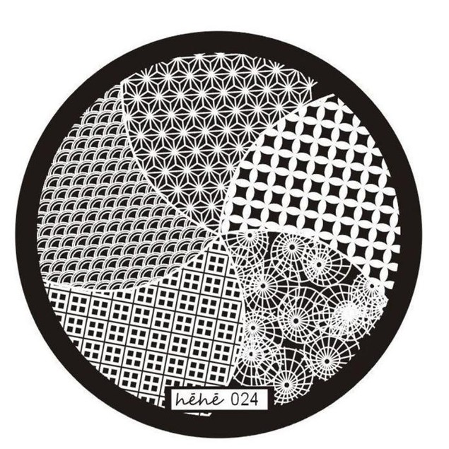 Nail Art Image Stamp Stamping Plates Manicure Template