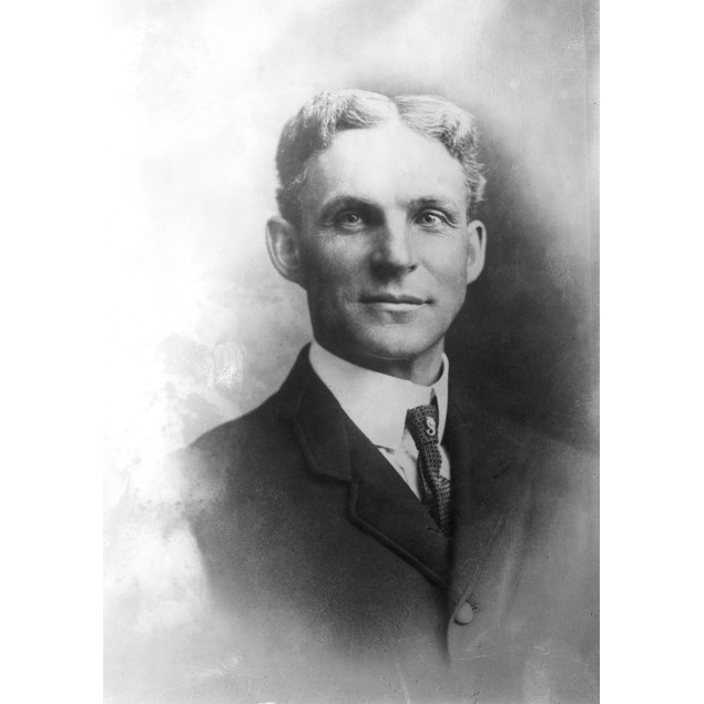 Henry Ford (1863-1947)./Namerican Automobile Manufacturer. Photographed C.