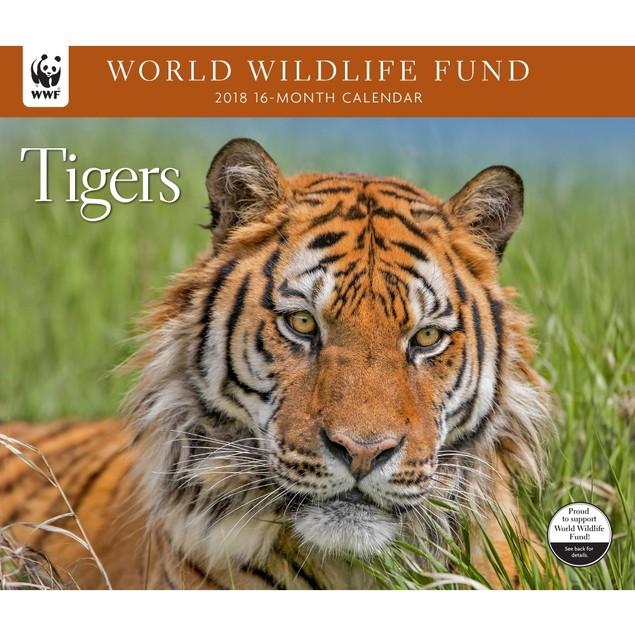 Tigers WWF Wall Calendar