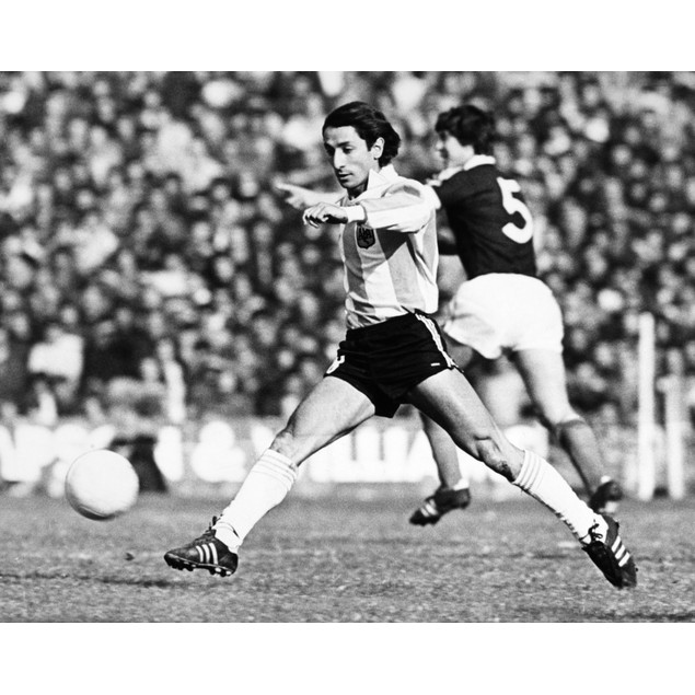 Osvaldo Ardiles (1952- ). /Nargentinian Soccer Player. Photograph, C1975. P