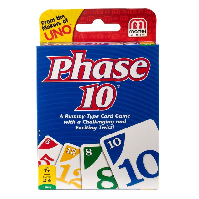 Phase 10 Card Game Styles