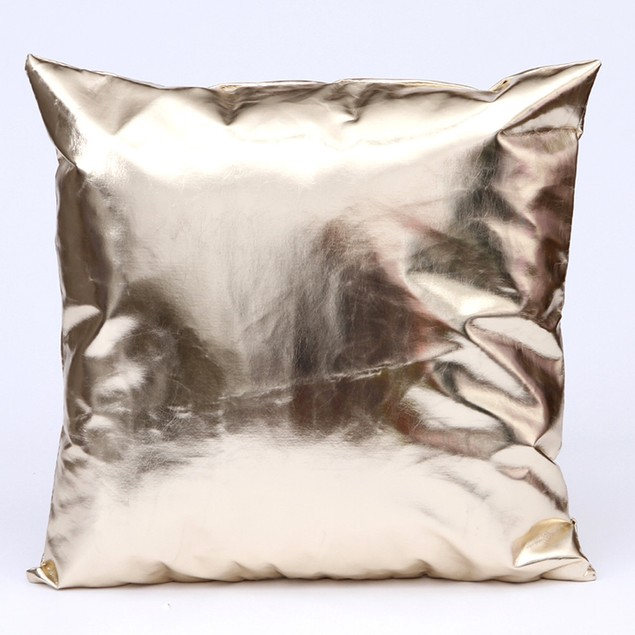 Leather Throw Pillow Case Cushion Cover Home Sofa Decor