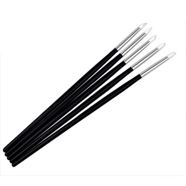 5Pcs Nail Art Tips Tools Polish Pen Brush