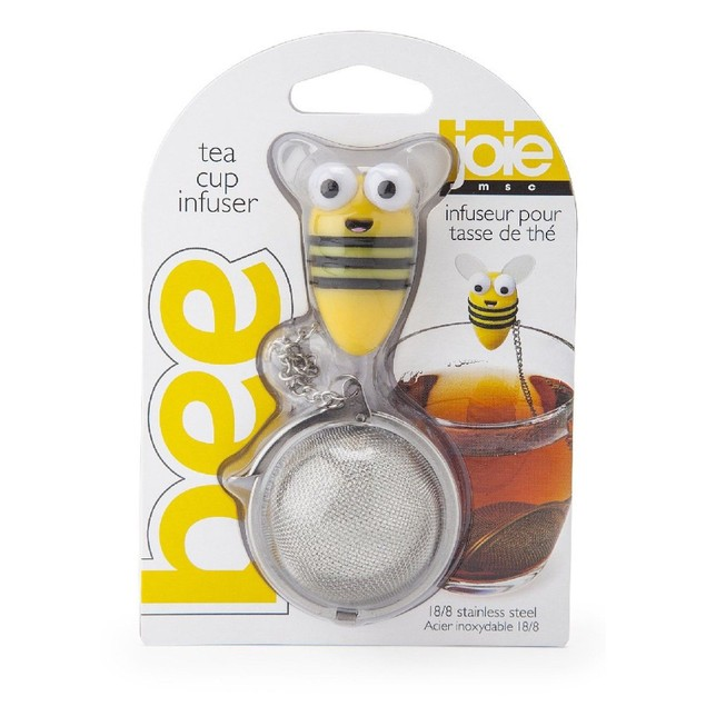 Joie Bumble Bee 18/8 Stainless Steel Loose Leaf Tea Ball Infuser Strainer