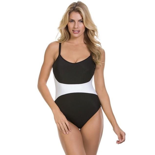 Magicsuit Women's Solids Serena One-Piece Black Swimsuit US SIZE 12