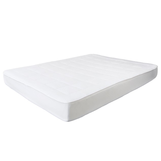 Bluestone Down Alternative Mattress Pad With  Fitted Skirt
