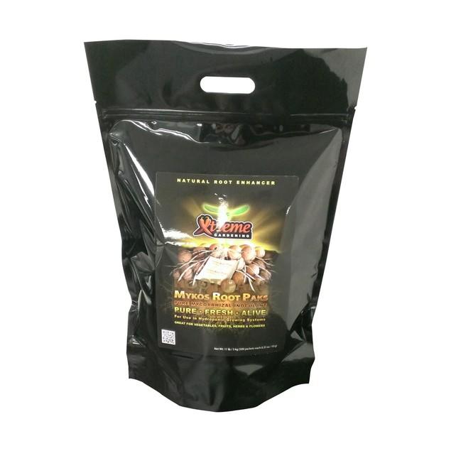 Xtreme Mykos Root Packs Pure Mycorrhizal Inoculum, 11 lbs, 500 Packs