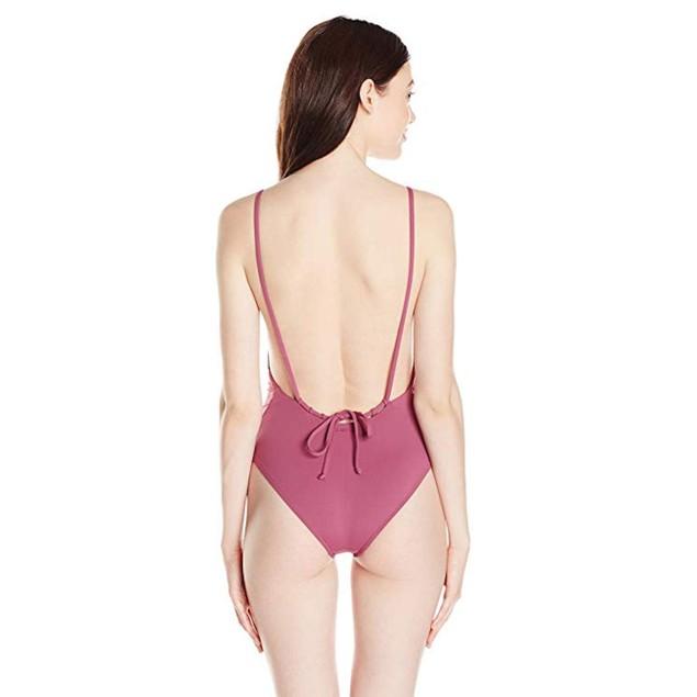 Billabong Women's Sol Searcher One Piece Swimsuit, Sweet Plum,  SZ sma