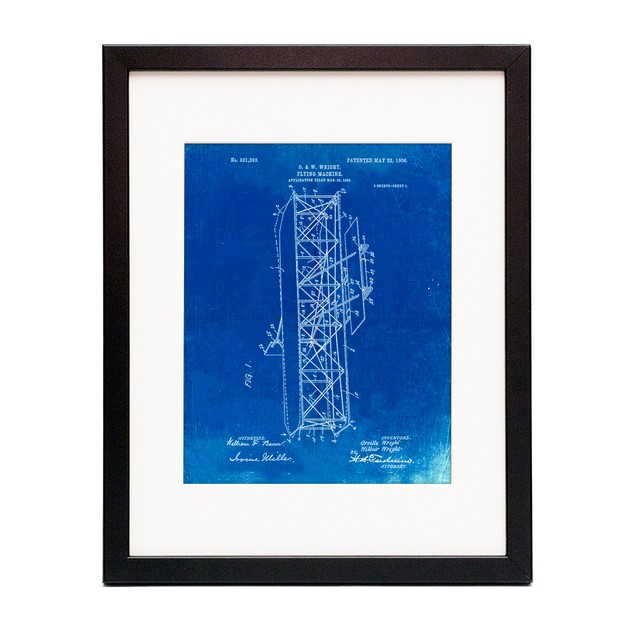Wright Brothers Flying Machine Patent Poster