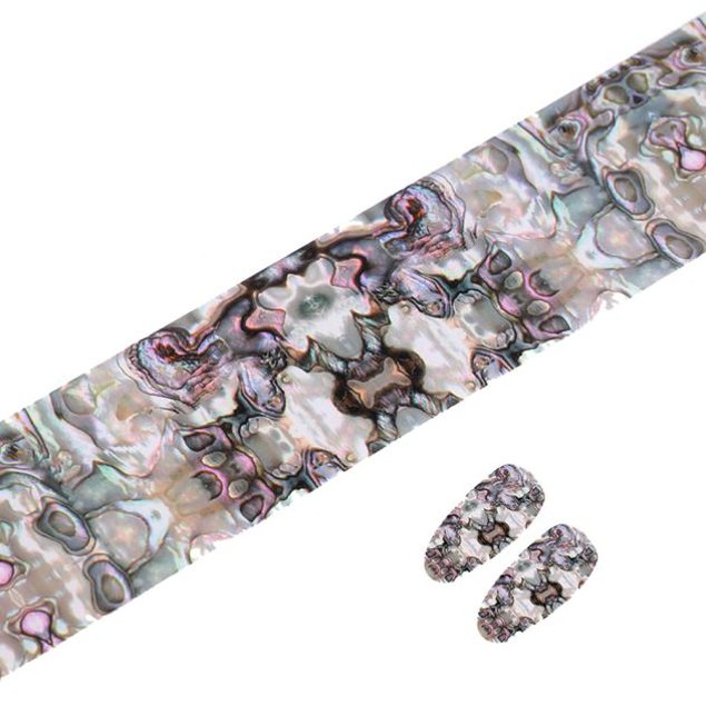 Design Nail Art Foil Stickers Transfer Decal Tips Manicure
