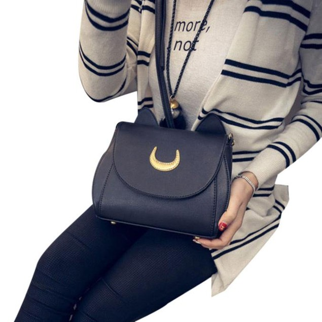 Sailor Moon Shoulder Bag Women Handbag  Crossbody Messenger