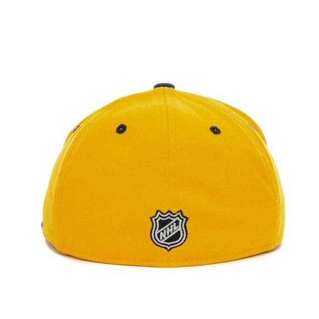 "Buffalo Sabres NHL Reebok ""Center Ice"" Flat Bill Stretch Fitted Hat"