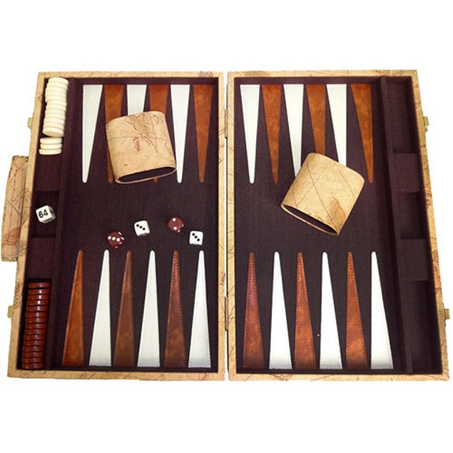 Deluxe Backgammon Attache Set, More Pop Culture by Go! Games