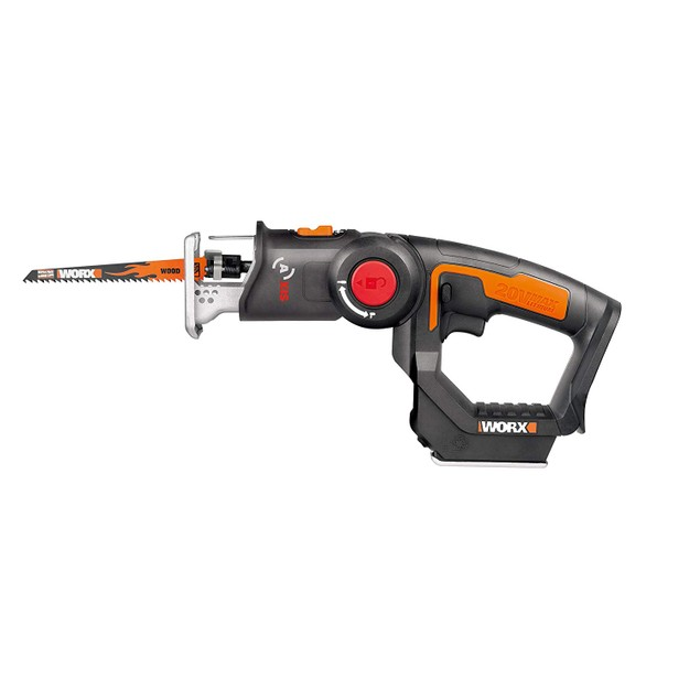 Reciprocating Saw with Orbital Mode, Variable Speed and Tool