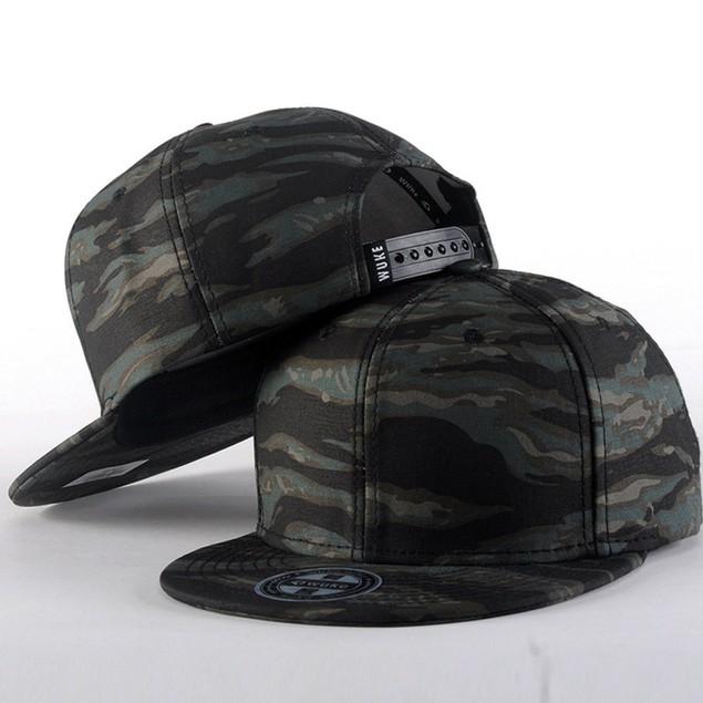 Men Women Baseball Camouflage Cap Snapback Hat Hip-Hop Adjustable