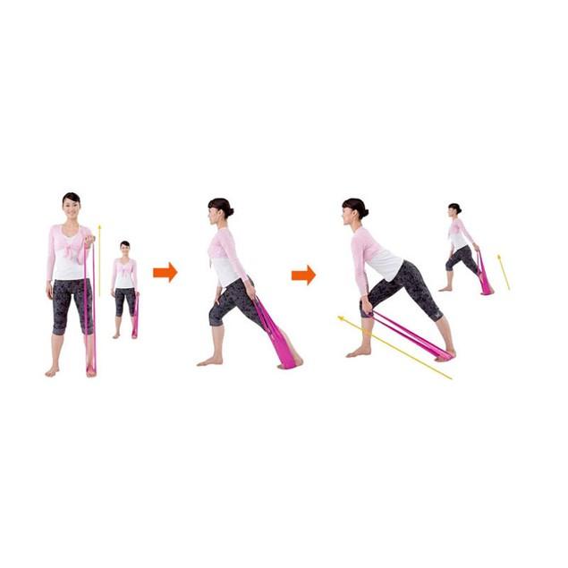 Pilates Yoga Workout Aerobics Stretch Band Tensile Band Elastic Band