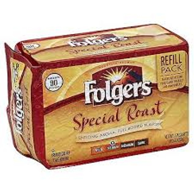 Folgers Special Roast Ground Coffee Refill Pack