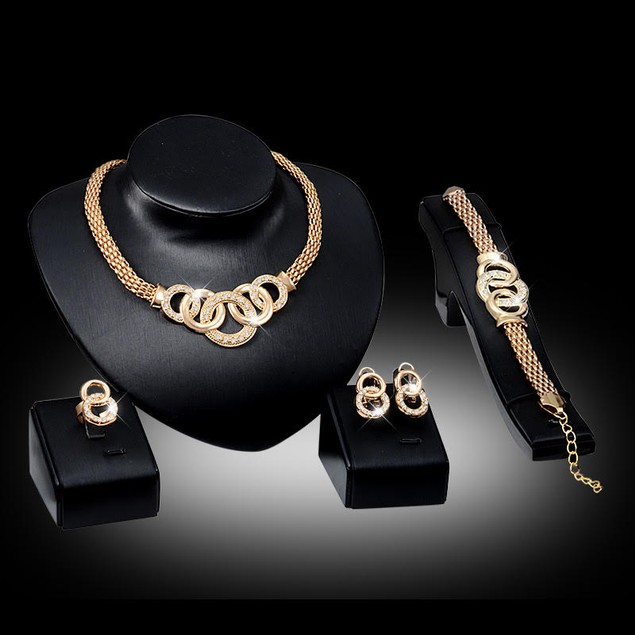 Multi Loop 4pc Jewelry Set