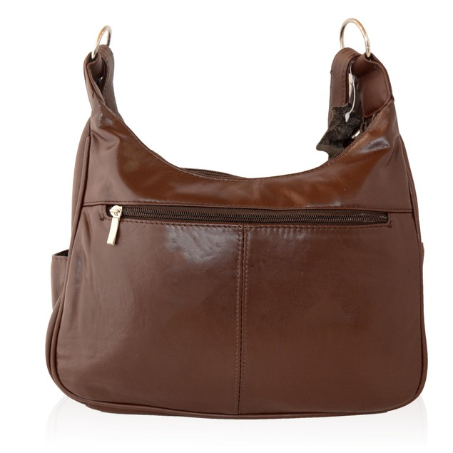 AFONiE Soft Leather Shoulder Bag