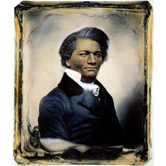 Frederick Douglass /N(C1817-1895). American Abolitionist And Writer. Oil Ov