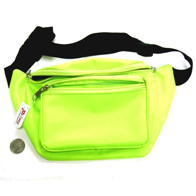 Neon Lime Fanny Pack
