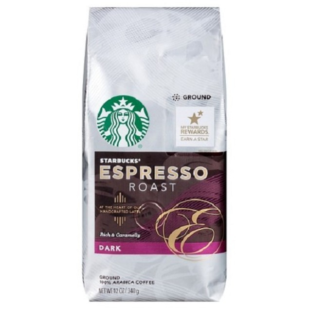 Starbucks Espresso Roast Ground Coffee