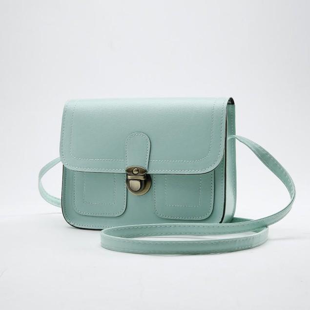 Classy Push Button Shoulder Bag