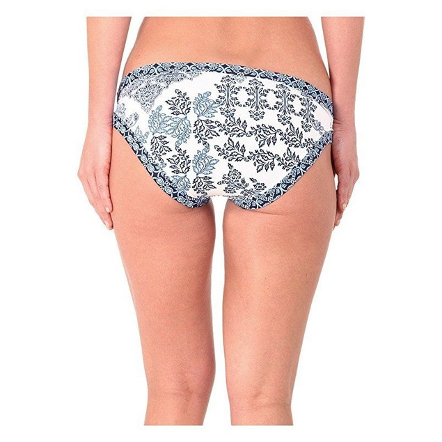 Tommy Bahama Women's Stamped Medallion Hipster Bottoms Blue Sz: Xs