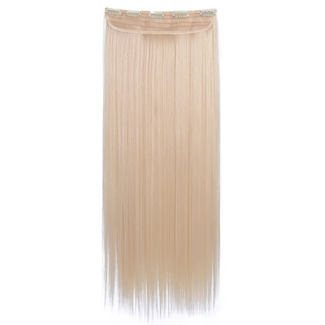"""24"""" Straight One Piece Synthetic Hair Extensions"""