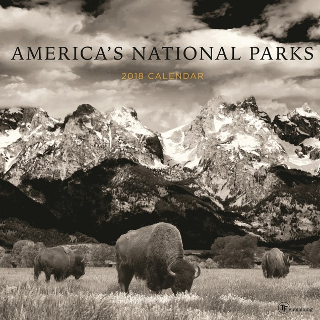America's National Parks Wall Calendar, National Parks by Calendars