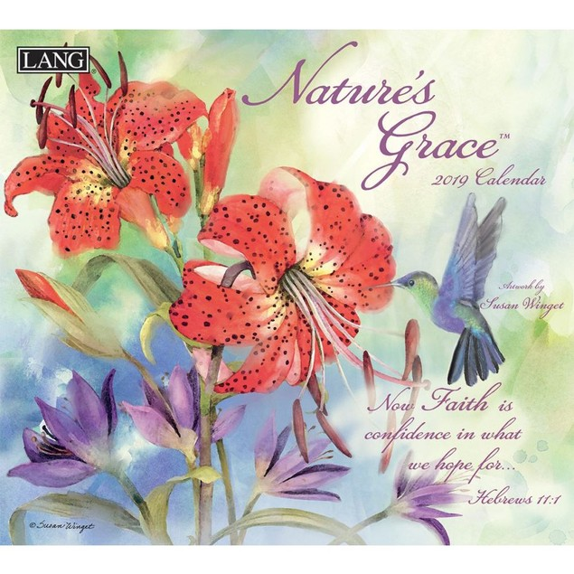 Nature's Grace Wall Calendar, Susan Winget by Calendars