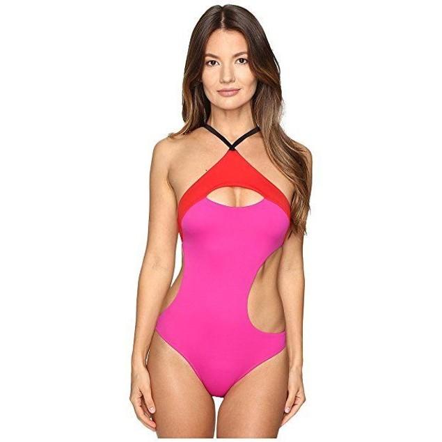 L'Agent by Agent Provocateur Womens Alenya Swimsuit Sz: XL