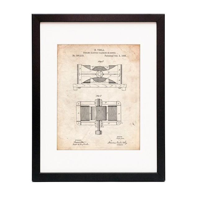 Tesla Dynamo Electric Machine Poster