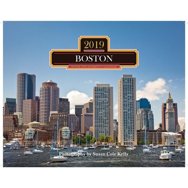 Boston Wall Calendar, Boston by Mahoney Publishing