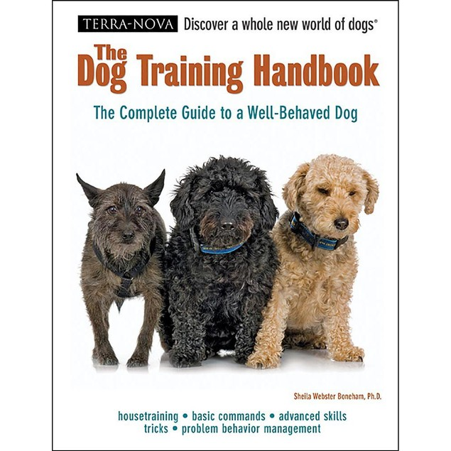 Terra Nova Dog Training Handbook Book, Dog Training by TFH Publications