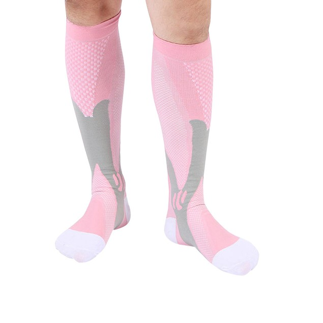 Unisex Compression Socks Athletic Fit Running Socks Travel Boost Stamina
