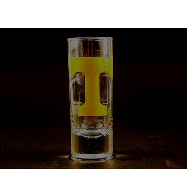 "Tennessee Volunteers NCAA ""Hype"" Tall Shot Glass"