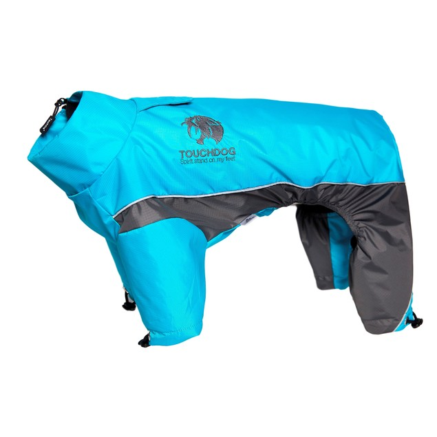 Touchdog Quantum-Ice Full-Bodied Adjustable and Reflective Dog Jacket