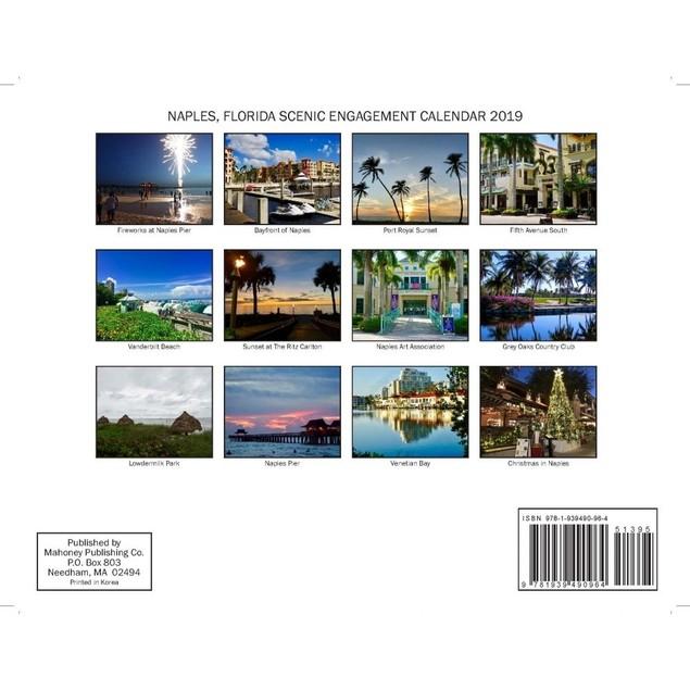 Naples Florida Wall Calendar, Florida by Calendars