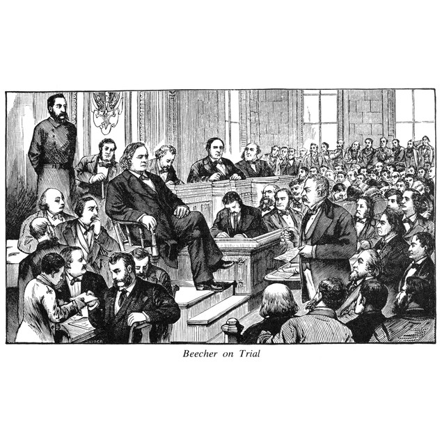 Henry Ward Beecher /N(1813-1887). American Congregational Cleric. Reverend