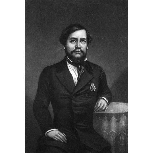 Kamehameha Iii (1813-1854). /Nking Of The Hawaiian Islands, 1825-1854. Mezz