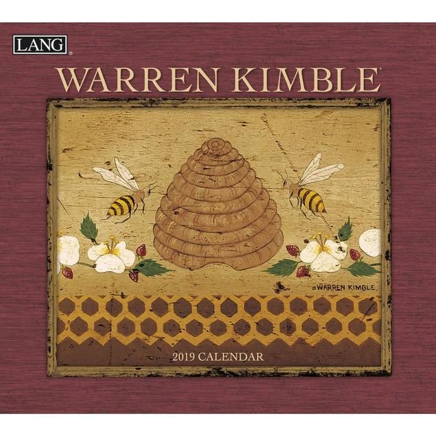 Warren Kimble Wall Calendar, Lang Folk Art by Calendars