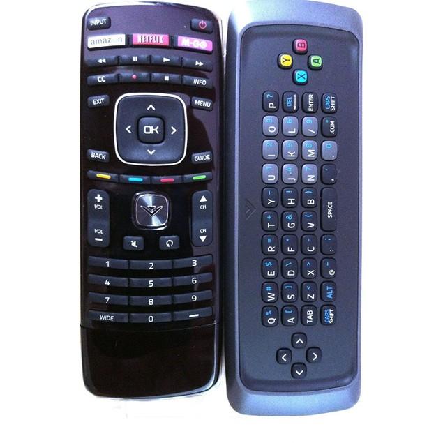 New dual side keyboard remote for VIZIO