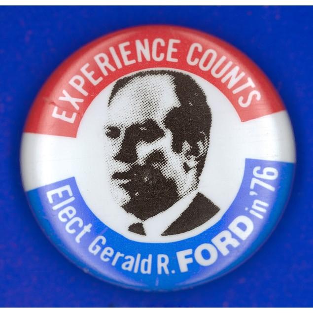 Presidential Campaign:1976. /Nrepublican Campaign Button From The 1976 Pres