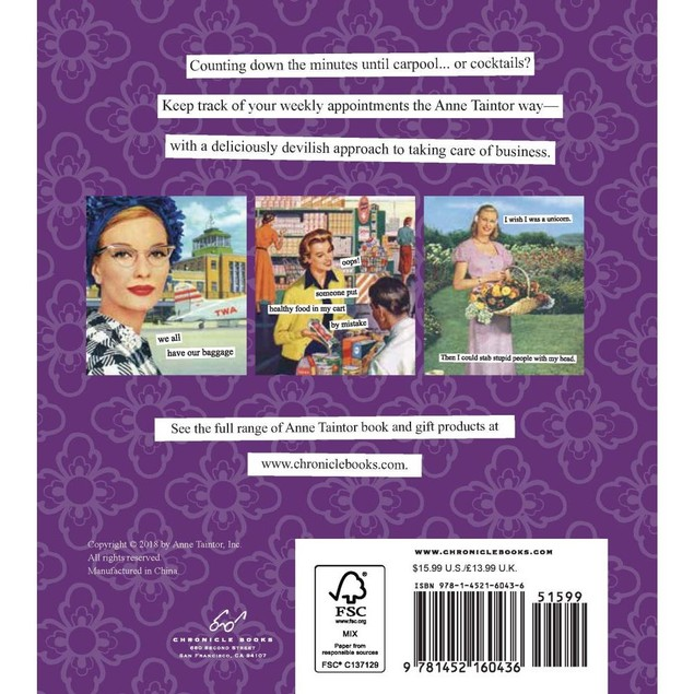 Anne Taintor Engagement Calendar, Women's Humor by Calendars