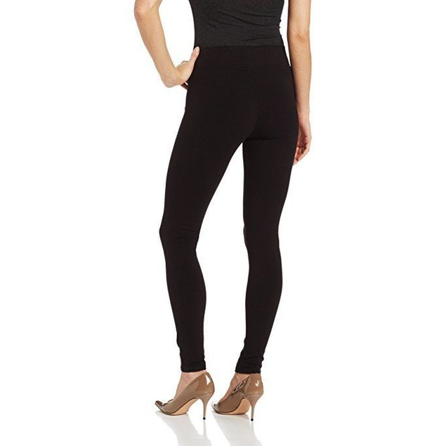Hue Women's Ultra Legging with Wide Waistband - Small - Black